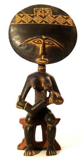Akuaba Doll Ashanti Akan Art 387 Archive Deco Art Africa