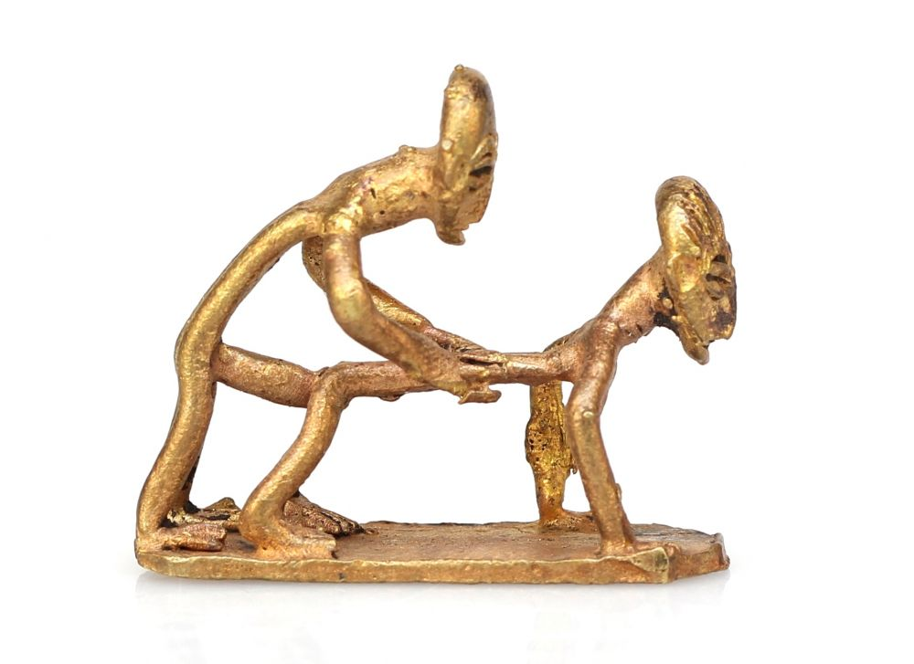 Erotic african sculpture