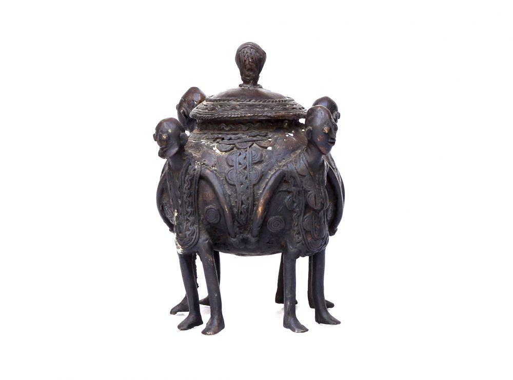 Bronze Brass Medicine Pot Ashanti 623 Pots And