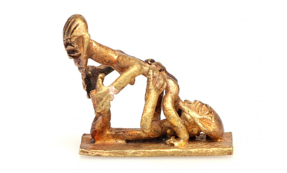 Agree erotic african sculpture