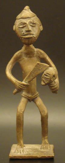 brass african ashanti executioner 564 goldweight